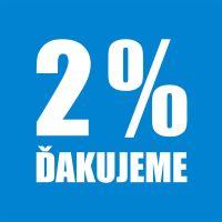 Darujte nám 2% svojich daní
